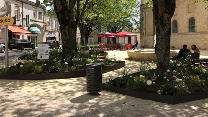 Paysagiste Bordeaux Arcachon : projet paysagiste Blanquefort, services publics