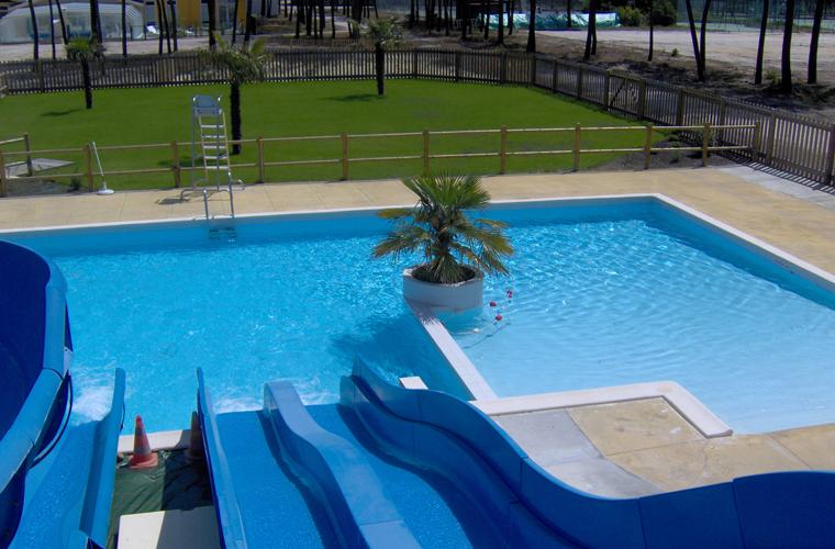 Paysagiste Bordeaux Arcachon : piscines collectives